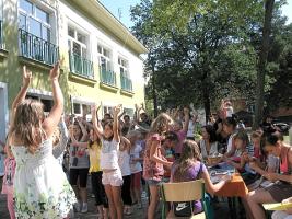 Festyn na zakończenie wakacji 2012
